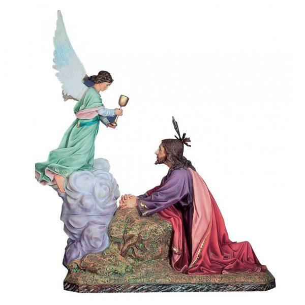jesus orando en huerto