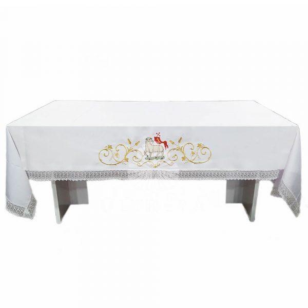 mantel de altar cordero