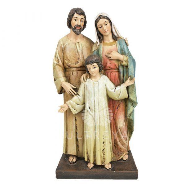 sagrada familia pasta de madera