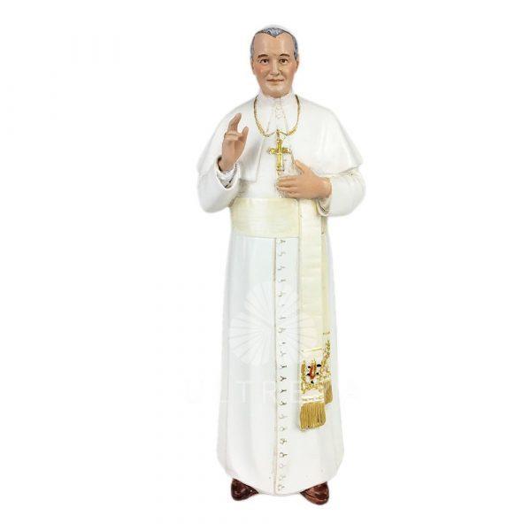 papa juan pablo II pasta de madera