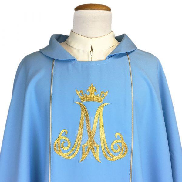 casulla mariana azul