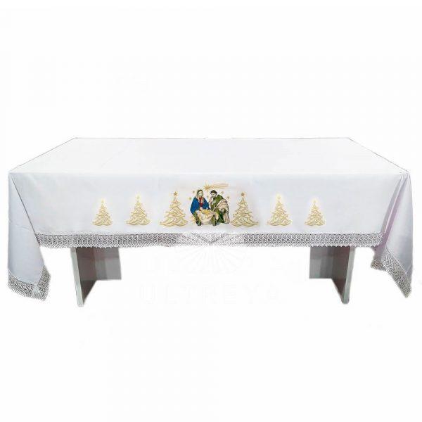mantel de altar de navidad