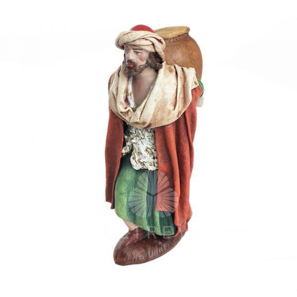 pastor con tinaja