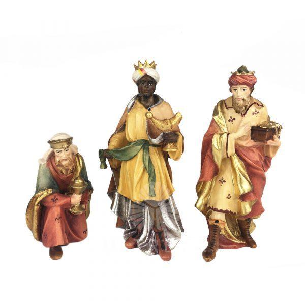 reyes magos talla de madera