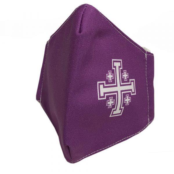 mascarilla religiosa viroblock cruces