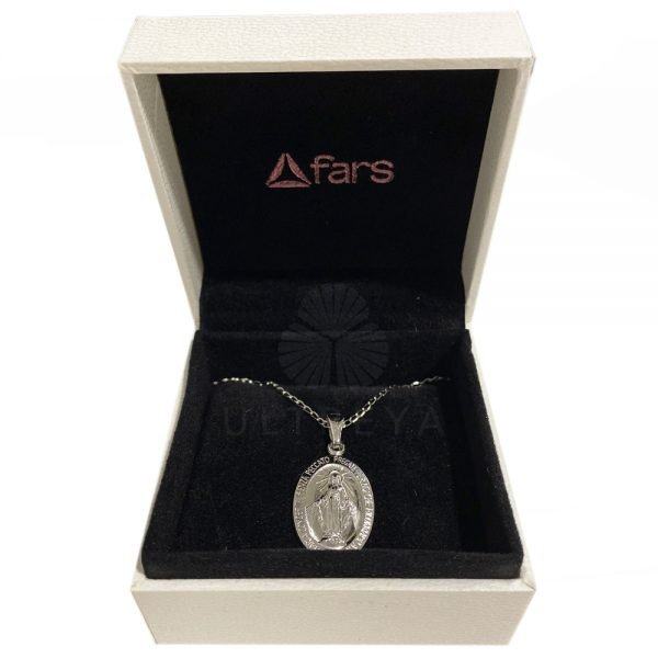 medalla de plata virgen de la milagrosa