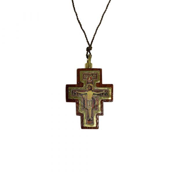colgante cruz san damian